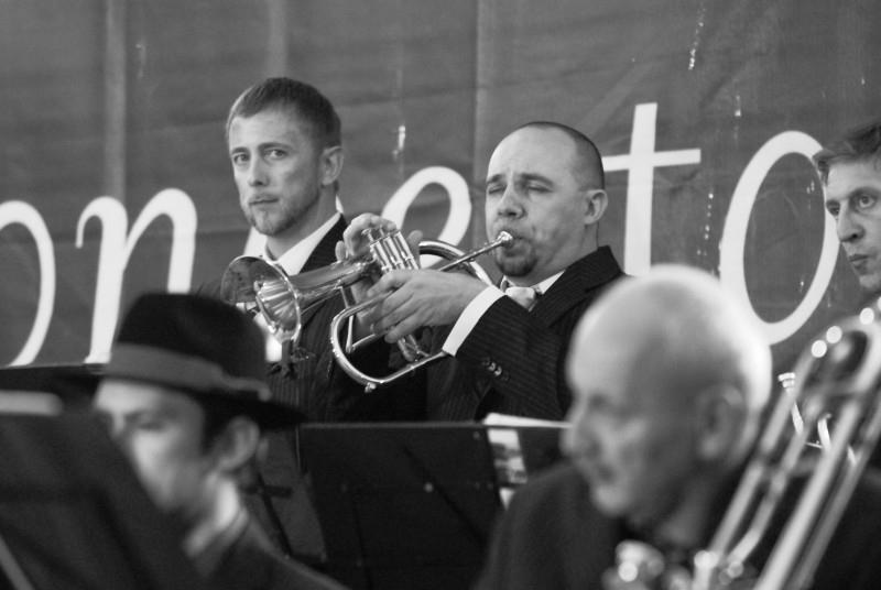 Luigi, Fabrizio (trombe), Lino, Michele (tromboni)