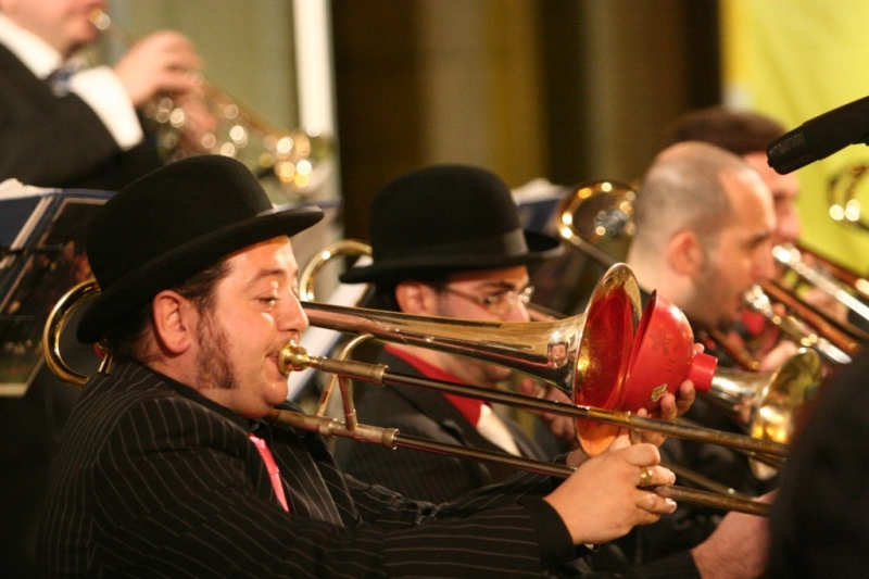 Bumbaca Gorizia    Jazz&Wine, big band Gone with the Swing © Foto di Roberto Coco