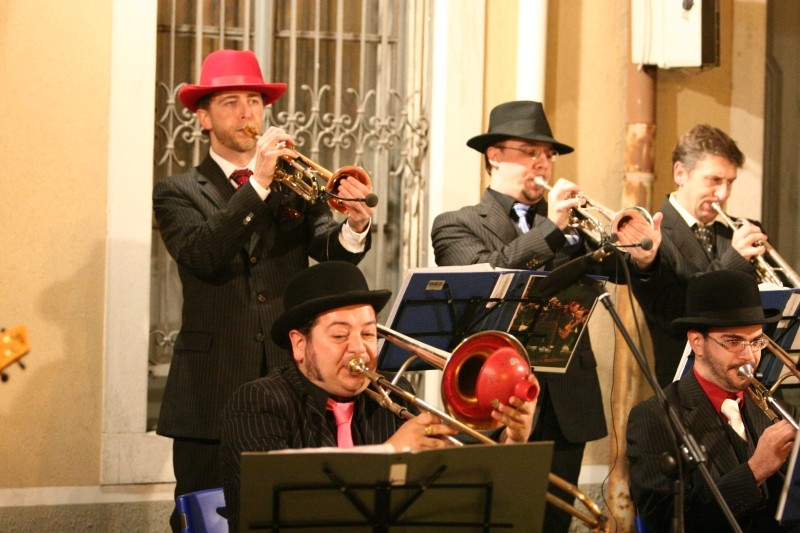 Jazz&Wine, big band Gone with the Swing